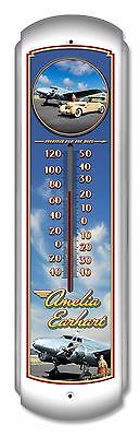 Amelia Earhart Large Thermometer - Hand Made in the USA with American Steel