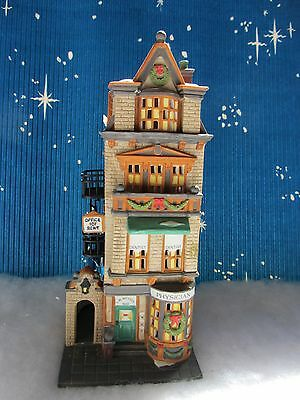 Dept 56 THE DOCTOR'S OFFICE  - Christmas in the City  # 55441   (1216W)