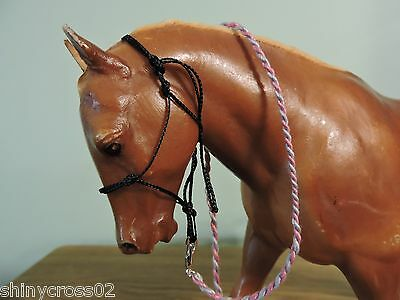 Pony Rope Halter Traditional sized Breyer Peter Stone with Lead Rope