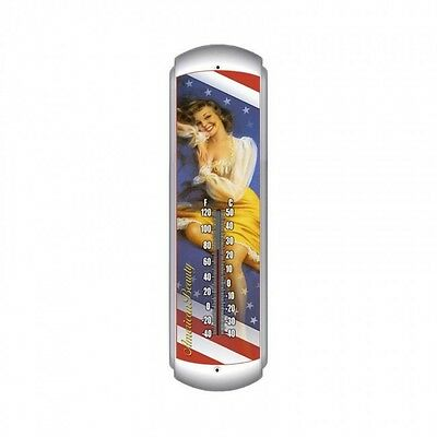 American Beauty Thermometer - Hand Made in the USA with American Steel