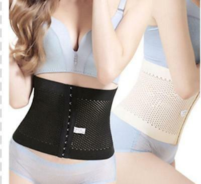 2* Breathable Women Thin Waist Belly Band Postpartum Recovery Body Shaper Belt