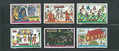 Anguilla Scott # 331-336 MNH Int'l Year of the Child