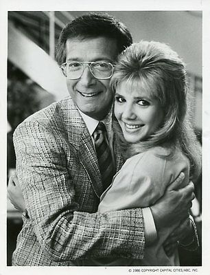 Bernie Kopell Heidi Bohay Smiling Portrait The Love Boat Orig 1986 Abc Tv Photo