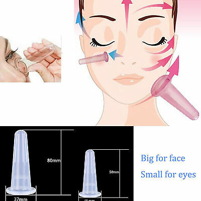 1pc Silicone Massage Vacuum Body and Facial Cups Set Anti Cellulite Cupping Tool