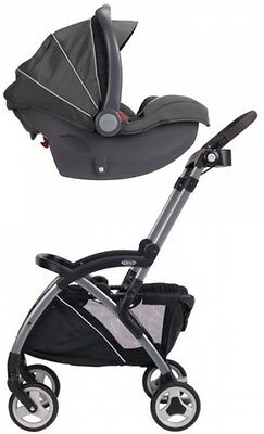 Graco SnugRider Lightweight Infant Car Seat Frame Stroller Black Baby Child New