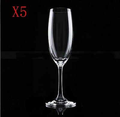 New 5X Capacity 220ML  Height  210MM  Transparent  Red Wine Glass/Glassware %