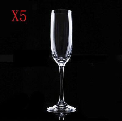 New 5X Capacity 205ML  Height  235MM  Transparent  Red Wine Glass/Glassware %