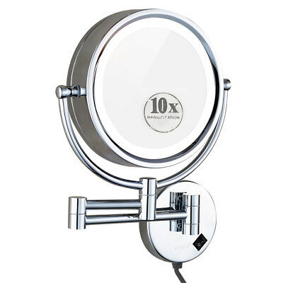 Gurun 8 5 10x Magnifying Lighted Makeup Mirror Oil Rubbed Bronze