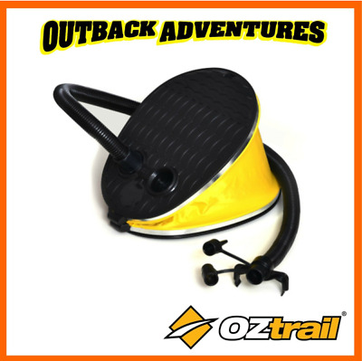 Oztrail 5L Foot Pump Air Pump For Airbeds And Inflateable Toys Inflate Deflate