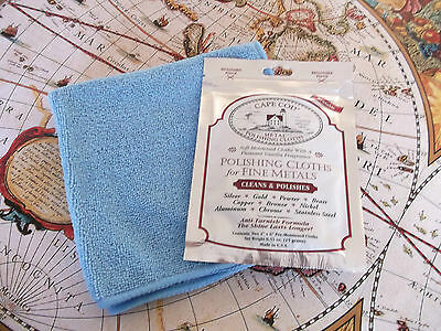Cape Cod Polishing Cloth Large Microfibre Watch Cleaning Kit For Diving Watches