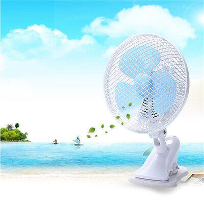 1PC Fan Clip-on Design Small Desk Fan Desk Fan Electric Air Cooling Clip Fan