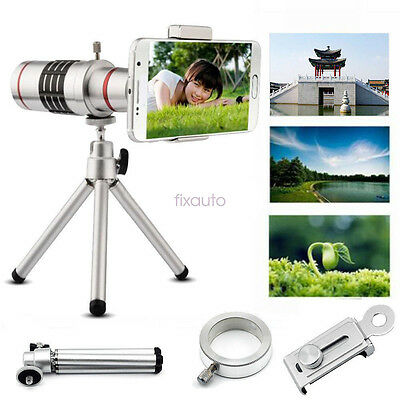 Universal 18x Zoom Optical Telescope Telephoto Lens with Tripod For Mobile Phone