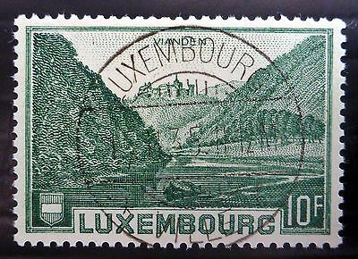 LUXEMBOURG 1935 - 10F SG340 - 1st Day Fine/Used NB1874