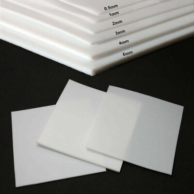 PTFE Film Sheet Plate Thickness  0.5mm 1mm 2mm 3mm 4mm 5mm 6 8 10 mm