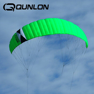 9Sqm Traction Kite Powerkites 4 Line Control for Outdoor KiteBoarding Skateboard