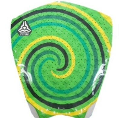 Komunity Project Clay Marzo Signature 3 Piece Tail Pad Traction Grip Green