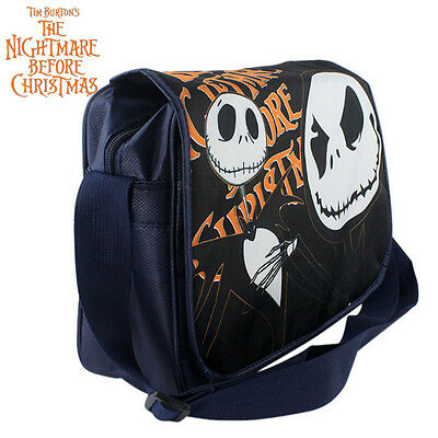 The Nightmare Before Christmas Jack Skellington Crossbody Shoulder Bag SchoolBag