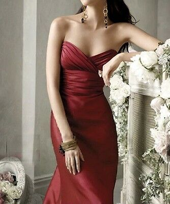New  black/Red Long Wedding  Vintage Evening Ball  Gown Prom Formal  Dress