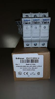 5 pieces Edison EHCC3DIU fuse holder with neon blown fuse indicator