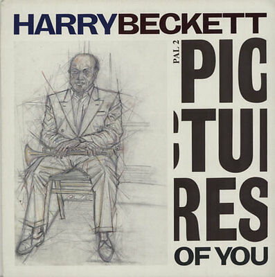 Harry Beckett Pictures Of You UK vinyl LP album record PAL2 PALADIN 1985