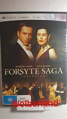The Forsyte Saga : Season 1 [ 2 DVD Set ] LIKE NEW, Region 4, FREE Next Day Post