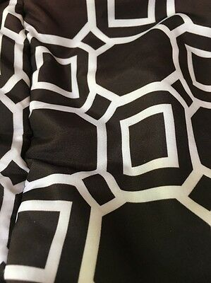 Shopping Cart Baby Sit Secure Safety High Chair Cover Black/White Boppy PreOwned