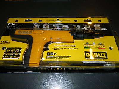 Dewalt P3500 .27 Caliber Semi Automatic Powder Actuated Fastening Tool DWF52000