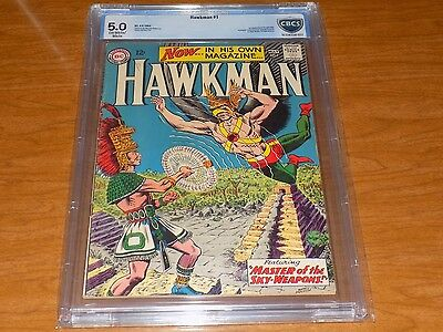 Hawkman #1 (1964) CBCS 5.0 ow/w pages! ~ First Hawkman in own title, M. Anderson