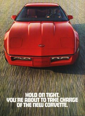 1983 Chevrolet Corvette  ~  8-Page Fold-Out Ad