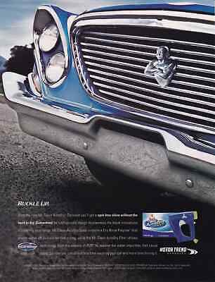 1961 Chrysler New Yorker ~  Great Mr Clean Ad