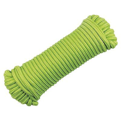2 or 4 Yellowstone Glow In The Dark Camping Guy Washing Line Guide Rope 50FT/15M