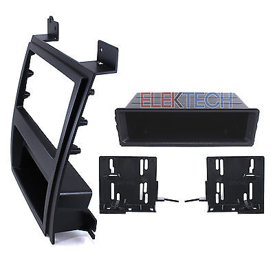 Radio Replacement Double-DIN Dash Mount Installation Kit for Cadillac Escalade