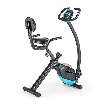Capital Sport Fitness Bike Gym Max 100 Kg Load Pulse Lcd Foldable *free P&p*