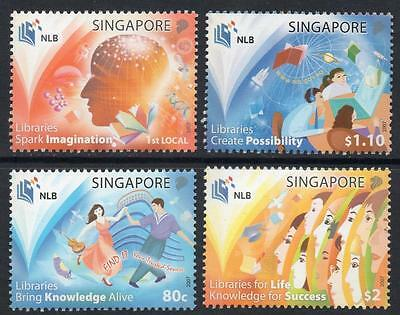 SINGAPORE MNH 2007 SG1742-45 National Library Board