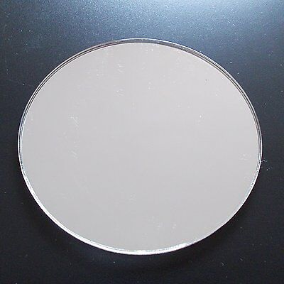 Circular Perspex Mirror Acrylic Sheet 31 SIZES TO CHOOSE Table Centre Piece Mirr