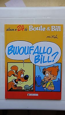 Boule Et Bill N°24 Bwoufallo Bill Eo 1995  Dargaud  !
