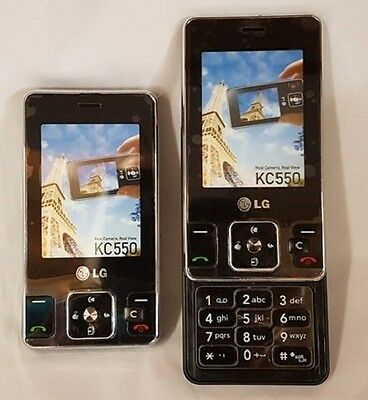 Dummy Mobile Cell Phone LG KC550 Flip up Display Replica Toy Realistic Look Feel