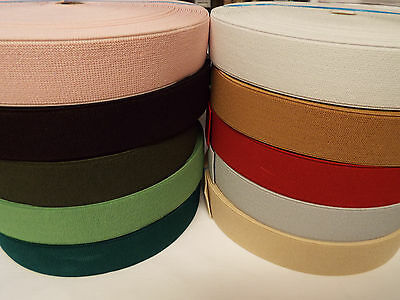 1m x 50mm Flat Elastic Very Strong for shoes//backpacks//bags-etc-Multicolour
