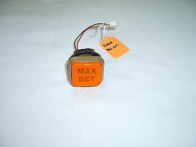 Slot Machine Max Bet Button For Japanese Pachislo Token Slot Machine - Lighted