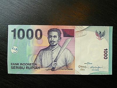 $1000 Indonesia Rupiah 1000 Uncirculated UNC Banknote Currency Sequential