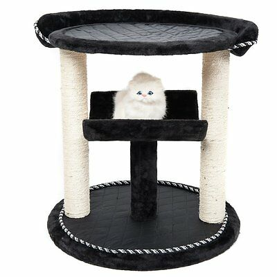 "Favorite 43"" Cat Tree Tower Condo with Bed, Tunnel and Sisal Scratching Posts"