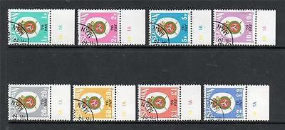Isle Of Man Used 1982 D17-24 Postage Due Stamps