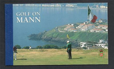 Isle Of Man 1997 Golf On Mann Booklet