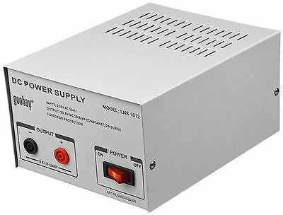 Goobay Laboratory fixed voltage power supply grey with 10 A and 13.8V DC (20366)