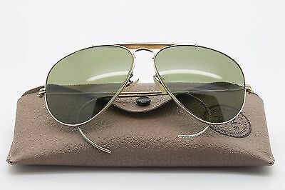 Ray-Ban * OUTDOORSMAN * 58 MM B&L U.S.A + Case / SUNGLASSES / VINTAGE 90
