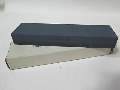 "SB-8 8 x  2 x 1"" Fine Coarse Sharpening Stone Qty 2 (LS780-2) Brand New"