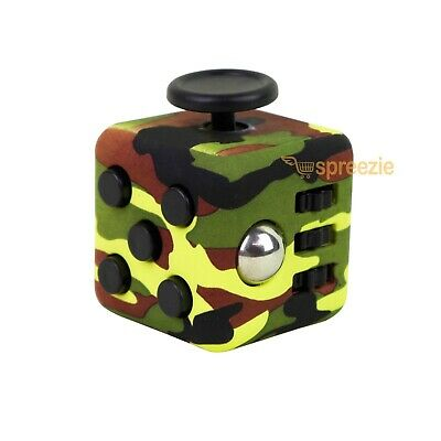 RED Camo Fidget Spinner Hand Spinner Toy Anxiety Stress Relief Focus ADHD New!