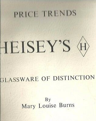 b6 - Vintage 1974 HEISEY'S Glassware of Distinction Price Trends Guide