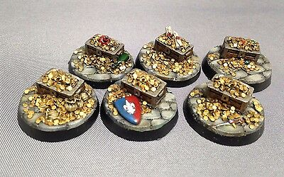 Treasure Counters / Objective Markers for Mordheim Warhammer Frostgrave D&D RPG