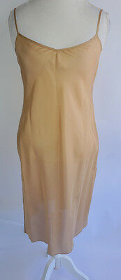 Trina Turk Silk Dress Slip Nude Size S Full Length Adjustable Straps